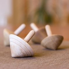 Good old fashioned fun - spinning tops - £1 + shipping! New photography too :)