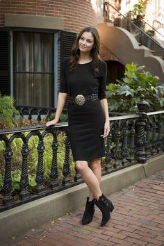 Tapered Dolman Dress
