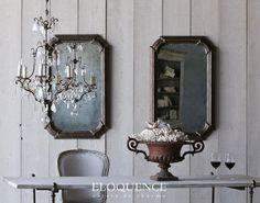 Vienna Mirror in Espresso www.eloquenceinc.com