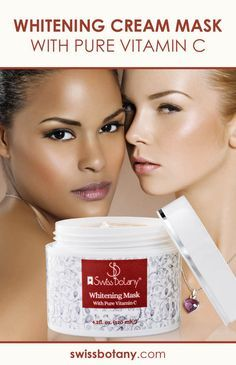 Our highest & purest grade skin whitening cream mask containing natural and wholesome ingredients. Only the best natural ingredients - Moisturizing Anti-aging Cream with Natural Whitening Miracle Agent Clay Bentonite to remove Darker Spots.