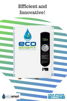 Forget the big bulky units of the past! EcoSmart has created a reliable yet simple solution for your water heating needs. Click the link to learn more! USA Pool Direct is a proud Carrier of EcoSmart! Spa Heater, Pool Heater, Pool Equipment, Water Heating, Innovation, Forget, The Unit, Marketing, Usa