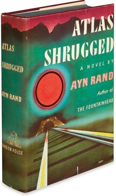 RAND, AYN. Atlas Shrugged. Lot 226