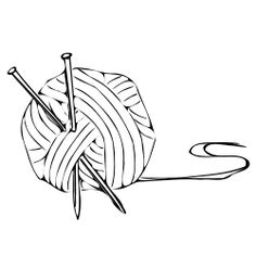 Crochet Hook Clip Art