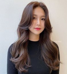 Haircuts For Long Hair With Layers, Curls For Long Hair, Long Layered Haircuts, Long Hair Cuts, Curl Long Hair, Girls With Long Hair, Style Long Hair, Long Hair Haircuts, Long Curled Hair