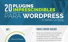 20 plugins imprescindibles si tienes un blog en WordPress (infografía)