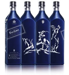Whisky brand Johnnie Walker has released a special edition bottle of its Blue Label blend to mark the Chinese year of the ram.