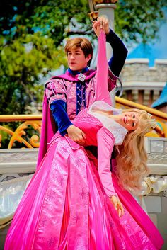 Aurora and Prince Phillipe