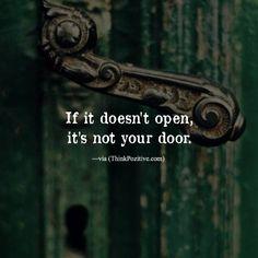 If it doesn't open..