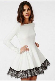 White pretty Dress
