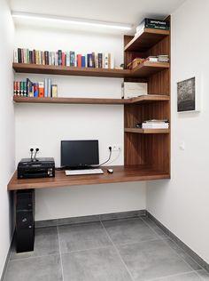 Home Office Furniture Design, Modern Home Office Desk, Office Table Design, Home Office Table, Home Office Setup, Home Room Design, Home Decor Furniture, Home Decor Bedroom, Small Home Offices