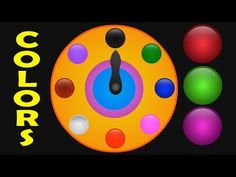 Colors for Children Lean With Clock - Kids Learning Videos - Colors Learning for Toddlers - YouTube