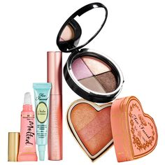 Too Faced I'll Stop The World & Melt With You Fall 2014 Full Face Collection - A limited-edition, full face set that's ideal for creating natural-looking, soft and sexy looks. #Sephora #makeup #valueset