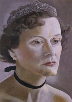 Lucian Freud  Portrait of Mrs. Anne Fleming  1950