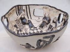 Theme/ConceptNarrative in Art pick a story, poem, song or verse. This can be your own story or one you know create a functional clay form and surface decorations reflect the written narrative...