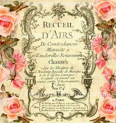 free printable paris perfume labels | Vintage perfume label