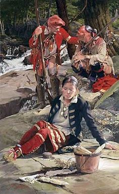 """Woodland Native Americans   from """"A Woodsrunner's Diary: Clothing and Equipment"""""""