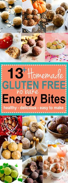 Best of Healthy Bites 2015 - DELISH Gluten Free NO BAKE Energy Bites! all…