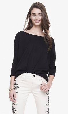Oversized Tunic Sweater | Express