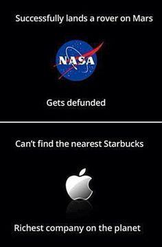 NASA vs. Apple