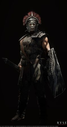 Damocles is a character i made for Ryse: Son of Rome Modeling and texturing: me In-game lighting: Chris Campbell Concept: Darren Bartley Ancient Rome, Ancient Greece, Ancient History, Gods Of War, The Elder Scrolls, Norse Tattoo, Viking Tattoos, Ryse Son Of Rome, Imperial Legion