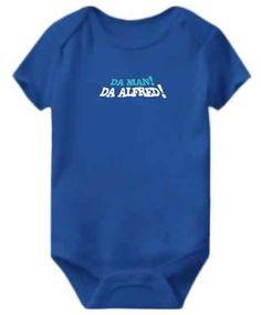 Da Man! Da Alfred! Baby Bodysuit