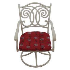 South Carolina Gamecocks D Chair Cushion, Multicolor