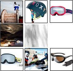 """""""Colección roxy - quiksilver para snowboard"""" by gafasdesolymas on Polyvore"""