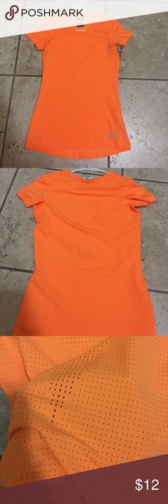 Nike Pro dri fit size XS Worn only a few times. Has breathable holes the whole back part Nike Tops Muscle Tees