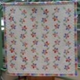 Dancing Daisies Quilt Pattern by Green Mountain Quilt Studio