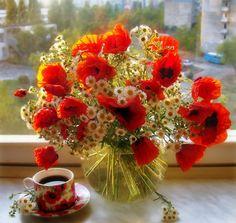 10 best flower poppies images on pinterest beautiful flowers orange poppy flowers centerpiece mightylinksfo