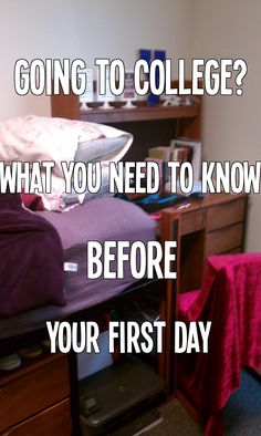 Freshman Year: What You Need To Know BEFORE You Start College
