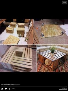 ... A Diy Project You Can Actually Do Yourself? This Woodworking Project Is  A Fun And A Fairly Easy One To Tackle On Your Own. The Wine Crate Coffee  Table ...