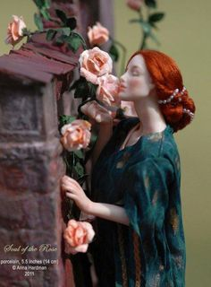 Soul of the Rose: doll by Anna Hardman
