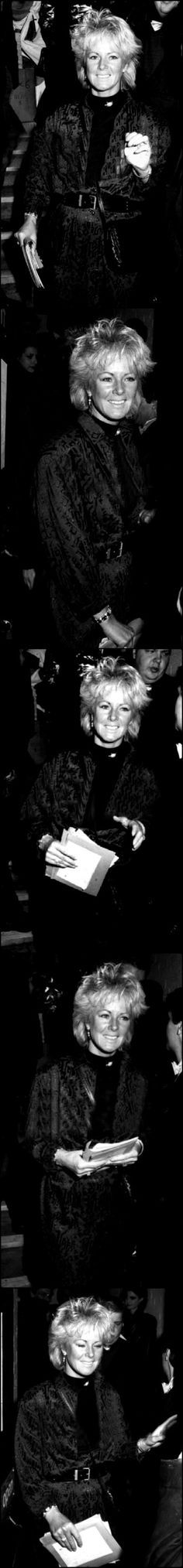 """On May 14, 1986 Frida attended the UK premiere of the musical """"Chess"""" in London."""