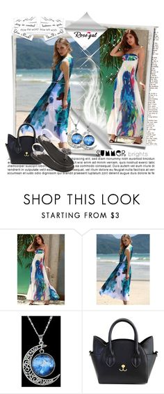 """""""rosegal.com  28"""" by mana-man ❤ liked on Polyvore featuring Summer and Trendy"""