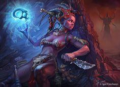 Witch Doctor by Igor Grechanyi | Fantasy | 2D | CGSociety