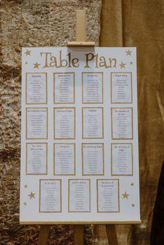 table seating weddings