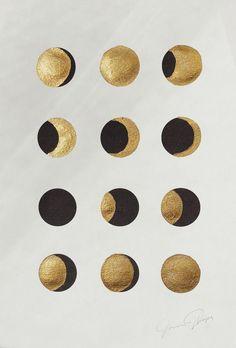 Graphic Design - Graphic Design Ideas - Moon Phases - Cocorrina Graphic Design Ideas : – Picture : – Description Moon Phases – Cocorrina -Read More – Moon Art, Gold Ink, Art Inspo, Abstract Art, Illustration Art, Design Inspiration, Design Ideas, Artsy, Graphic Design