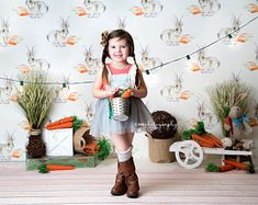 """Make this Easter a """"hoppy"""" one with an Easter photography backdrop from HSD Backdrops! Photography Mini Sessions, Spring Photography, Photography Backdrops, Children Photography, Amazing Photography, Food Photography, Photography Settings, Easter Backdrops, Spring Photos"""