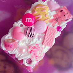 Kawaii Lollipop Bear Sweets iPod nano 7th gen decoden case