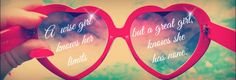 Custom Sunglasses Strong Woman Quote Facebook Twitter Cover Timeline Cover Photo Image