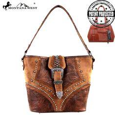 de2962b4f Montana West Concealed Carry Collection Handbag (MW211G-916) Bolsos De Cuero,  Bolsas
