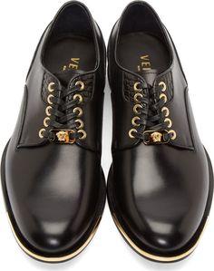 Versace Black Shoes
