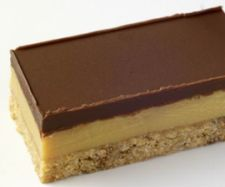 Thermomix Chocolate Caramel Slice.