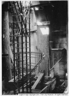 Steel framework, maybe rebar for inside pillar Historical Society, Park City, Photoshop, Museum, Steel, Landscape, Scenery, Museums, Steel Grades