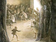 Bilbo in the Goblin's Hall. The Hobbit.