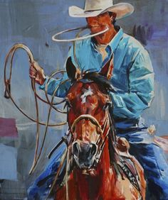 A Roping Horse's Halo..... Sophy Brown