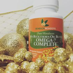 Our Omega-7 Complete has the perfect blend of sea buckthorn berry & seed oil for all of your health/ beauty needs! #health #beauty #wellness