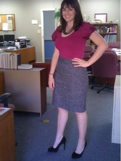 Channeling Mad Men at the office!