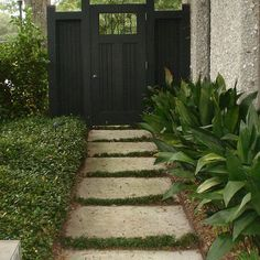 Contemporary Home Garden Gate Design Ideas, Pictures, Remodel, and Decor